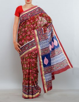 Online shopping for pure venkatagiri cotton saris by unnatisilks