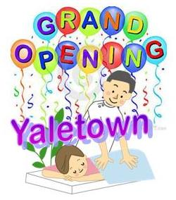 Japan Shiatsu Clinic Yaletown Grand Opening!!