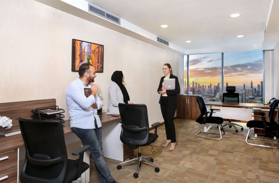 Serviced Offices For Rent In Dubai | The Executive Lounge