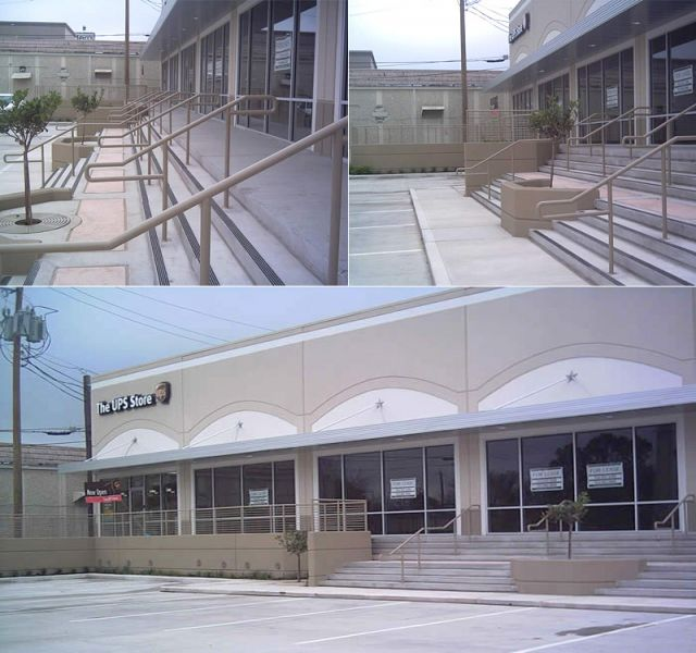 Commercial Wrought Iron Handrails, Hand railings, Deck Railings