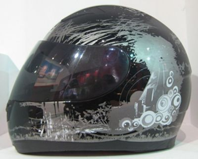 **NEW** Streetz Full Face Blue Graffiti Helmet - Blue or Black