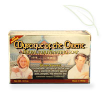 Mystique of the Orient Herbal Rejuvenating Soap impeding the chances of skin ailments