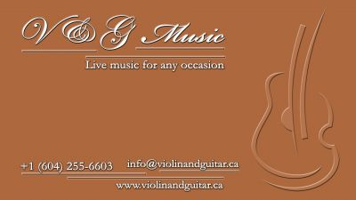 Live musicians for weddings and corporate events