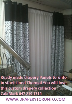 Custom, Ready made, Lined, Drapery toronto, Curtains, roman blinds, sheers, rods, tracks, 6472191714