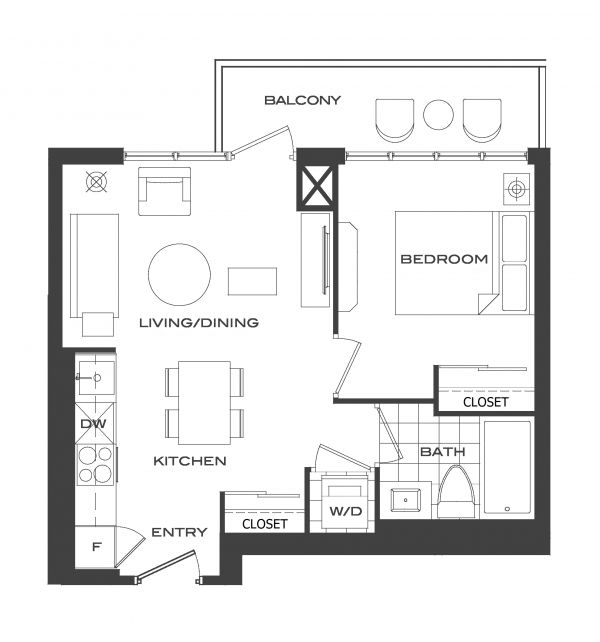 $1,795 / 1br - 5 years new condo apartment North York