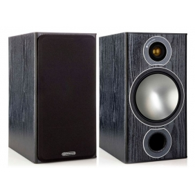 Monitor Audio Bronze 2 Stereo Speaker Pair Black or White Hifi Audio What Hi-Fi