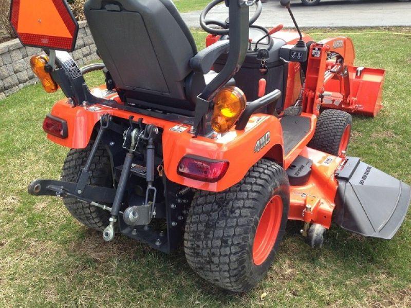 4 275 2013 Kubota Bx2370 4x4 Tractor Mower Loader