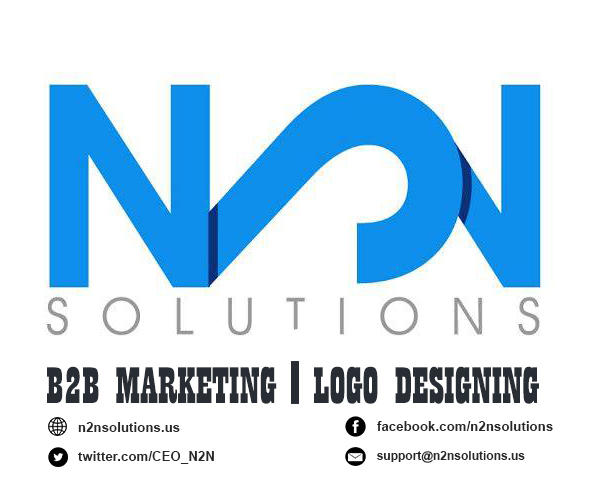 B2b marketing company logo design services usa n2n for Design company usa
