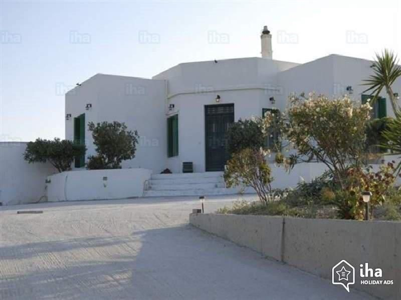 Greece Cyclades island milos rent villa  for 6/8 person