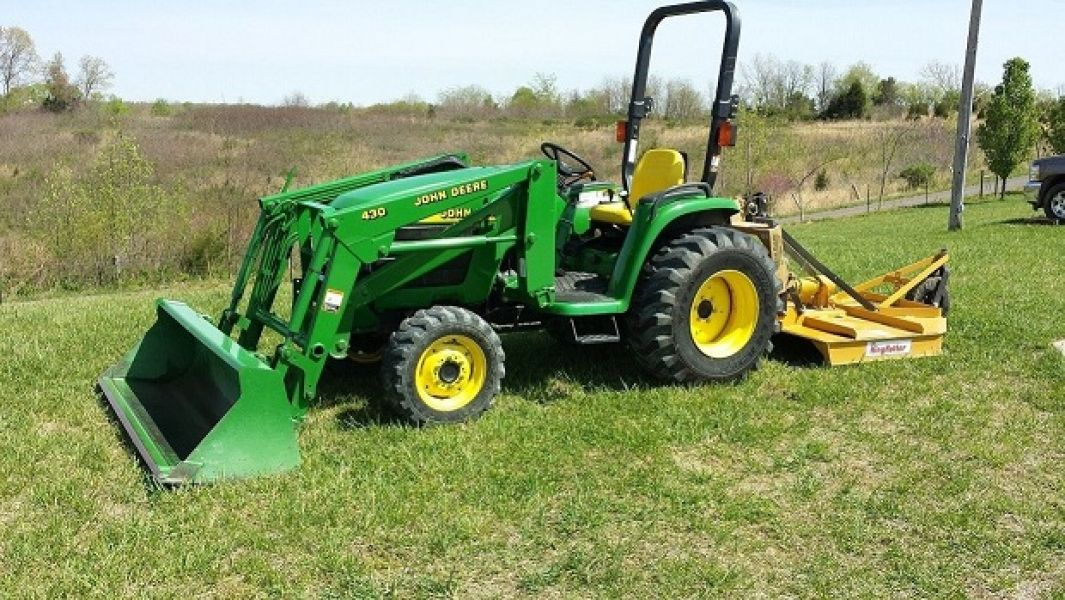 John Deere 430 Loader Manual