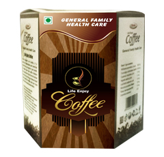 Life enjoy coffee is a combination of natural ingredients and herbs containing antioxidants and bene