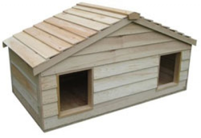 Extra Large House for Some Cats from CozyCatFurniture.com - Free Shipping