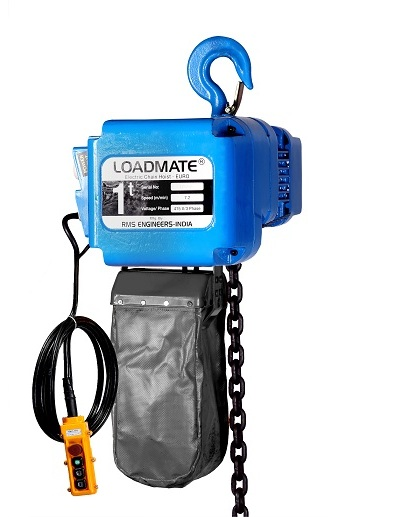 Buy Electric Chain Hoist for key to easy continuous work flow at Loadmate