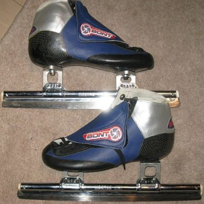 Bont short track speed skates mens size 8-8.5   $450cdn