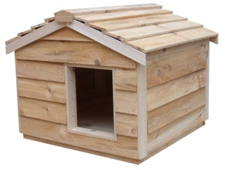 Outdoor Cedar Houses for Cats and Kittens