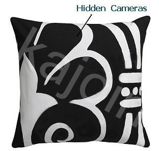 Kajoin Spy Pillow Hidden Cameras