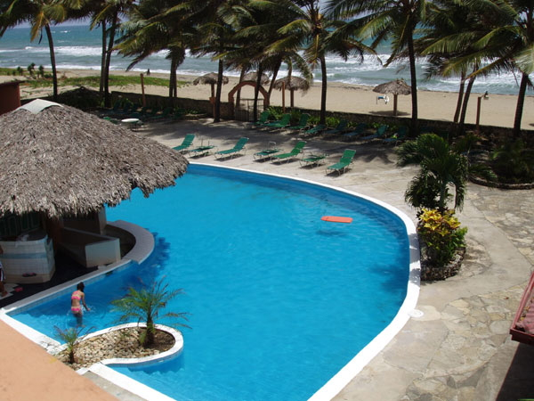 Caribbean Beachfront Condo only $1200 per MONTH !!