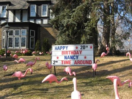Birthday Lawn Ornaments Sudbury Image Inspiration of Cake and