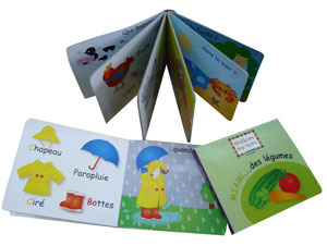 Cardboard Book Printing, Children Cardboard Book Printing China