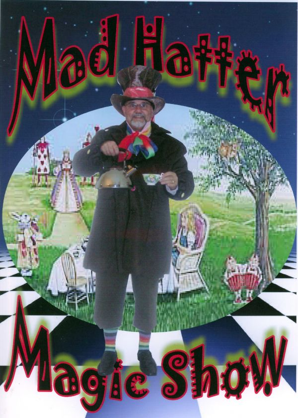 MAD HATTER magic show