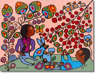 Christmas Cards by Norval Morrisseau!