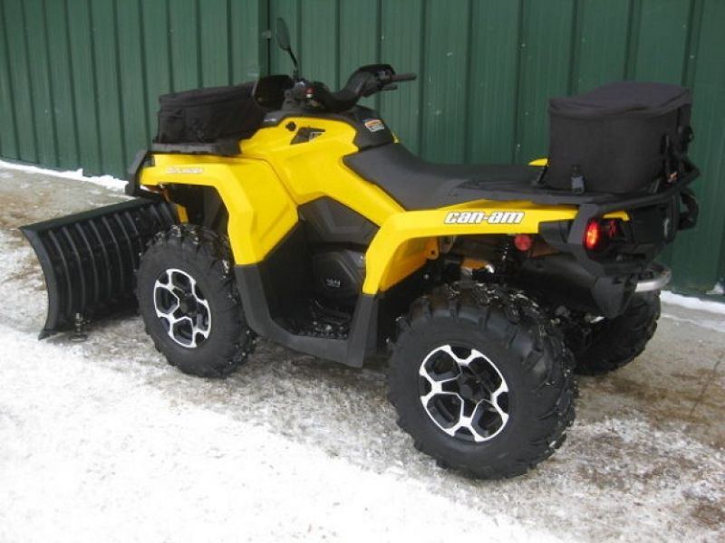 2012 CAN AM Outlander 1000R XT Plow 4X4