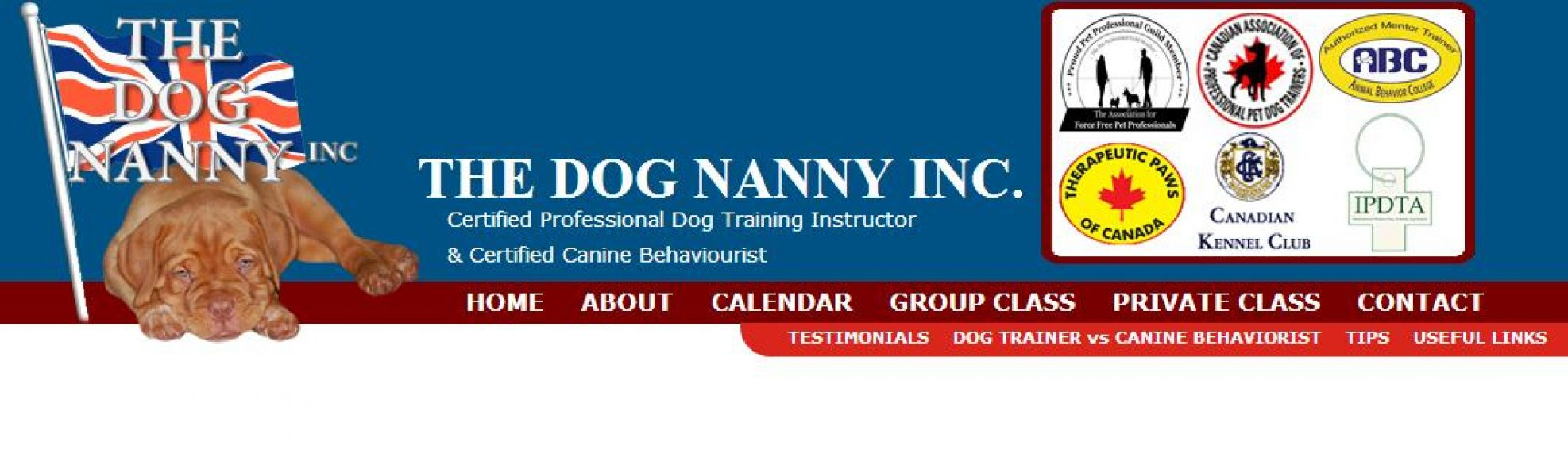The Dog Nanny's Canine Training Academy