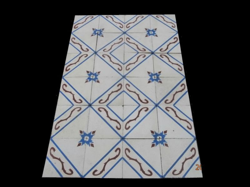 Really old spanish patterned tiles