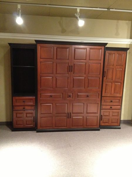 Murphy Bed With Side Cabinets On Sale