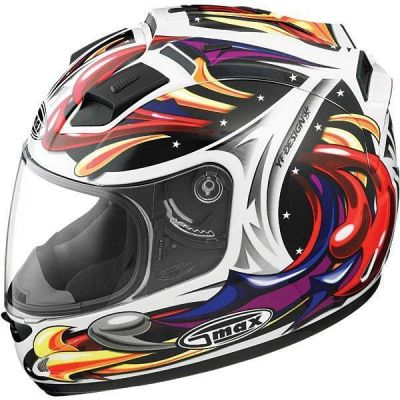NEW - G-Max GM68 Wizard Full Face with LED Light - STORE