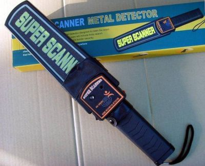 Handheld Metal Detector for Security Guard, Bouncer and Police