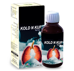 Kold&Kuf is a 100% natural product used in the treatment of cold & cough and can be used by both chi