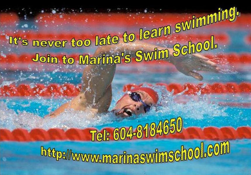 Marina's Swim School for Kids and Adults