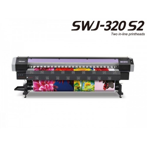 Mimaki SWJ-320 S2 Super Wide Format Printer 128 Inch