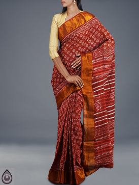 Online shopping for corporate pure rajasthani cotton sarees by unnatisilks