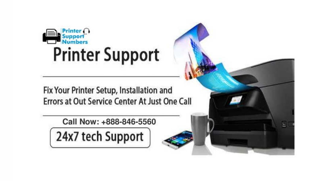 HP Printer Support Phone Number | +(1)-888-846-5560