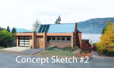 Ocean View Building Lot with Concept Plans