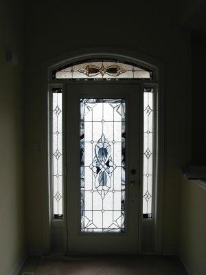 Wrought Iron Decorative Glass Inserts Winnipeg