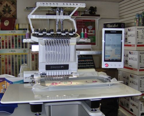 For Sale Brother Pr 1000e Embroidery Machine