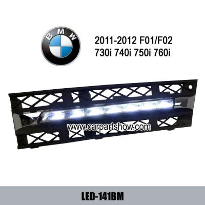BMW F01 F02 730i 740i 750i 760i DRL LED Daytime Running Lights Fog lamp cover LED-141BM