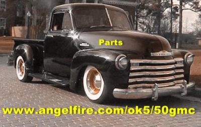 1947 1953 Gmc Chev Truck Amp 1946 1948 Chevy Car Parts