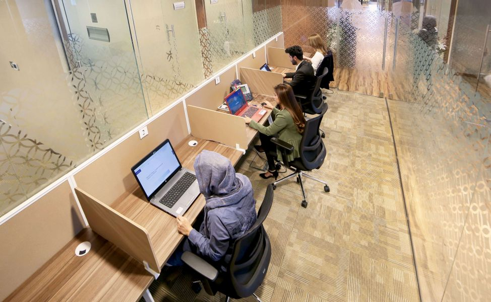 Coworking Space In Dubai | The Executive Lounge