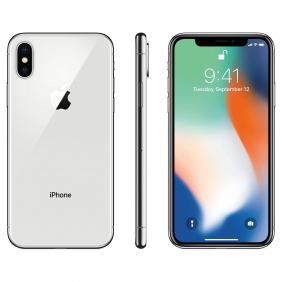 Brand New Apple iPhone X - 64GB LTE (Silver) UNLOCKED