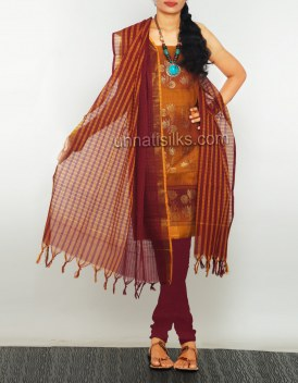 Online shopping for pure handloom kanchi cotton salwars by unnatisilks
