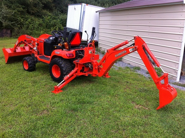 2007 Kubota BX24 Backhoe Loader 4x4