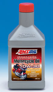 Amsoil Motorcycle Synthetic Oil 10W-30 10W-40, 20W-50