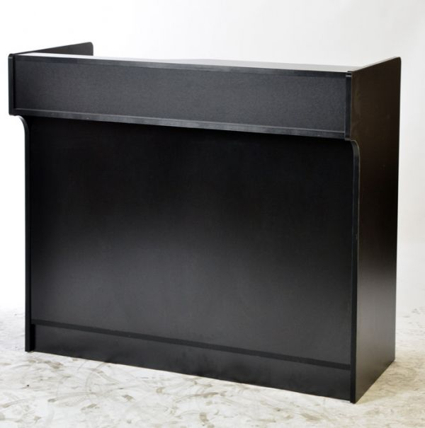 Cash Register Wrap Stand-Retail Store Counter Cabinet