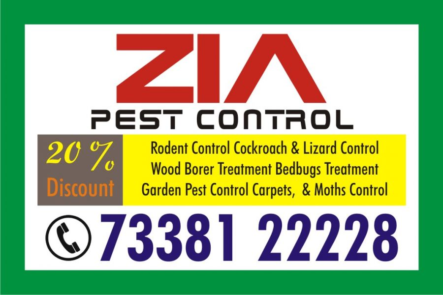 Zia Pest Control 7338122228 | Cockroach  Service Price Just 1000.00 | 1834