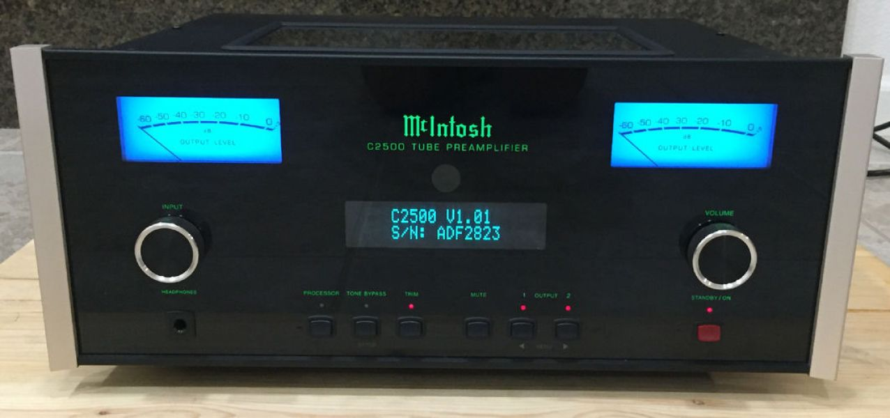 McIntosh MC252 Power Amplifier