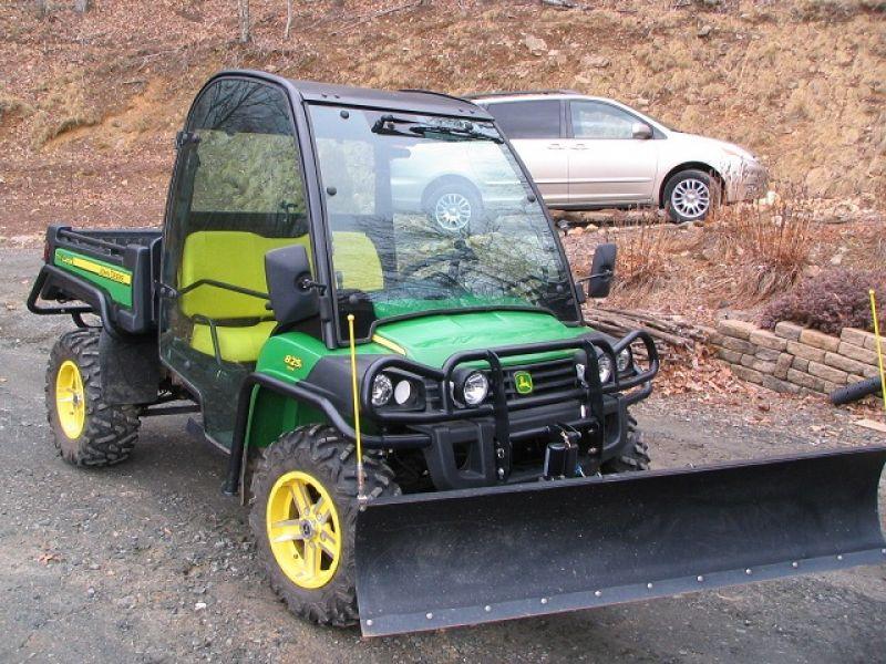 John Deere Gator Plow >> = $4, 250 = 2011 John Deere Gator 825i w/ Plow